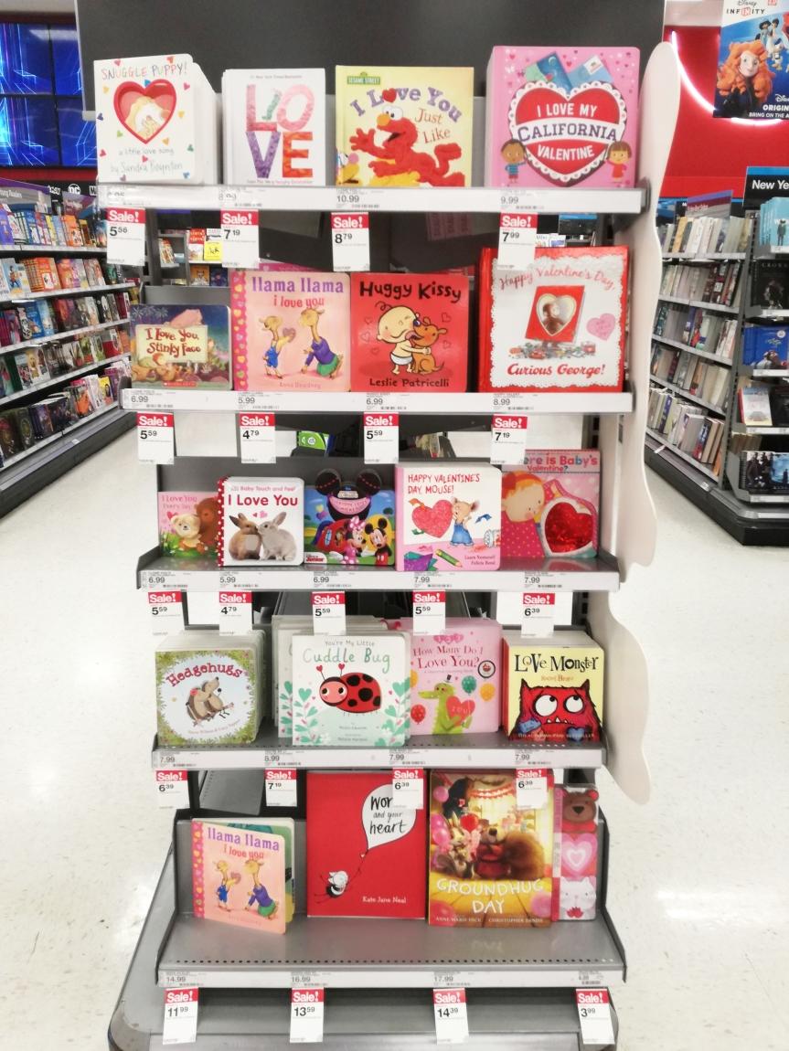 Walentynki i książki omiłości.