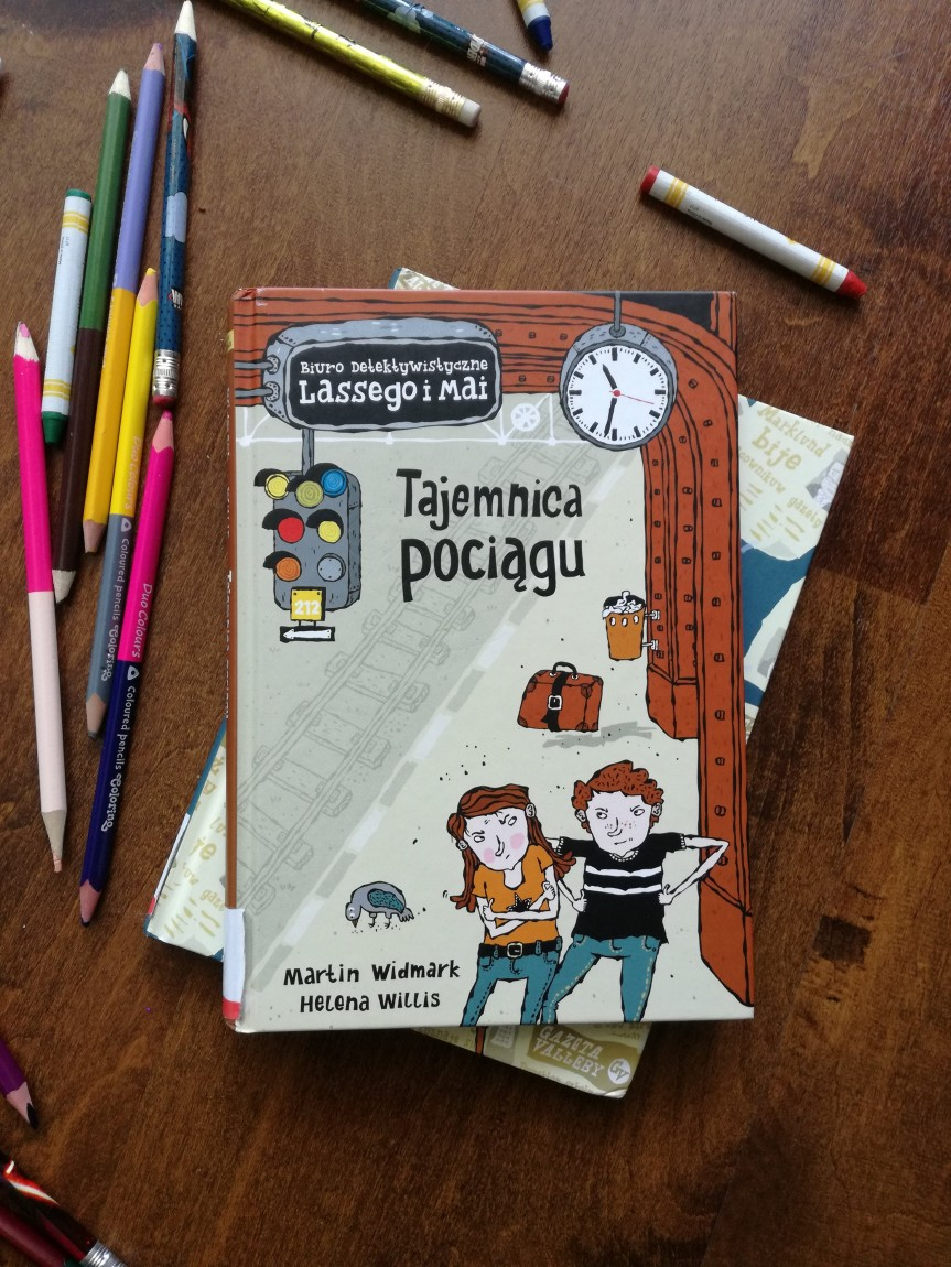 Lasse i Maja / Tajemnicapociągu.