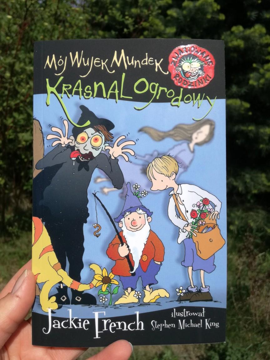 """Z serii """"Zwariowane rodzinki"""": """"Mój wujek Mundek Krasnal ogrodowy."""""""