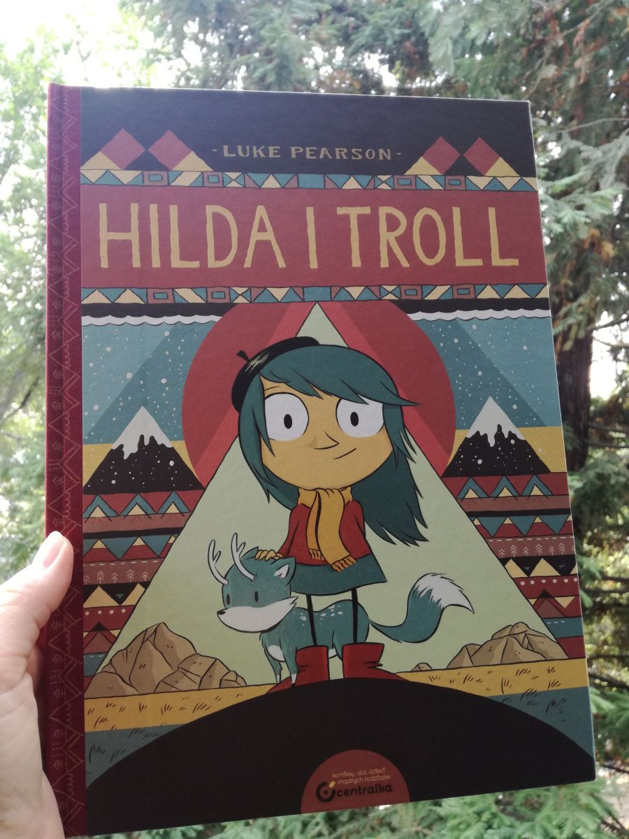 """#KOMIKS /""""Hilda i troll"""", czyli fajnie jest mieć lisa z rogami."""