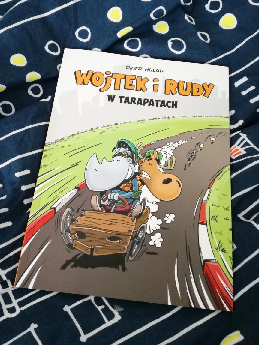 #Komiks / Wojtek i Rudy wtarapatach.