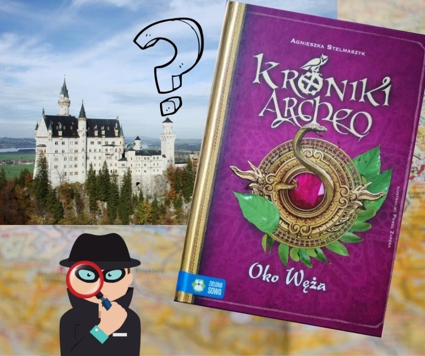 """""""Kroniki Archeo – Oko węża"""", czyli zagadka rodem zBawarii."""