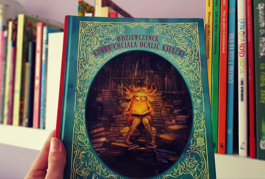 #StareKsiążki O dziewczynce, która chciała ocalićksiążki!