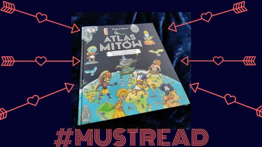 #mustread Najpiękniejszy atlas świata!<3